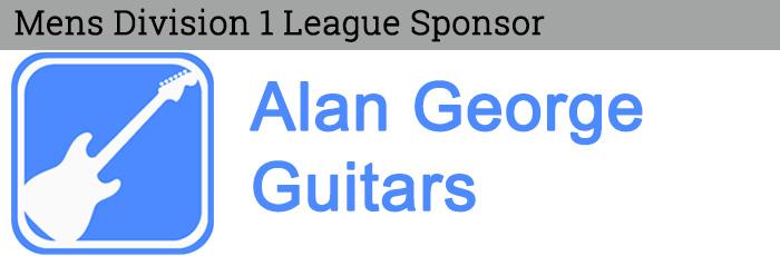 Alan George Guitars - Mens Division 1 Sponsor