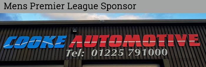 Cooke Automotive - Mens Premier Division Sponsor